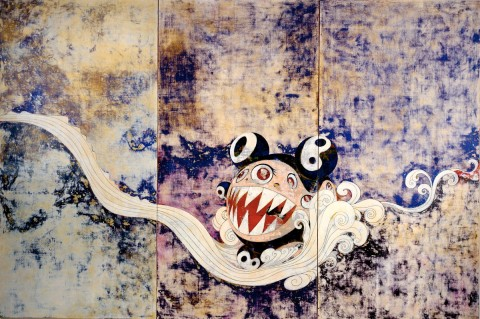 727, 1996; painting by Takashi Murakami