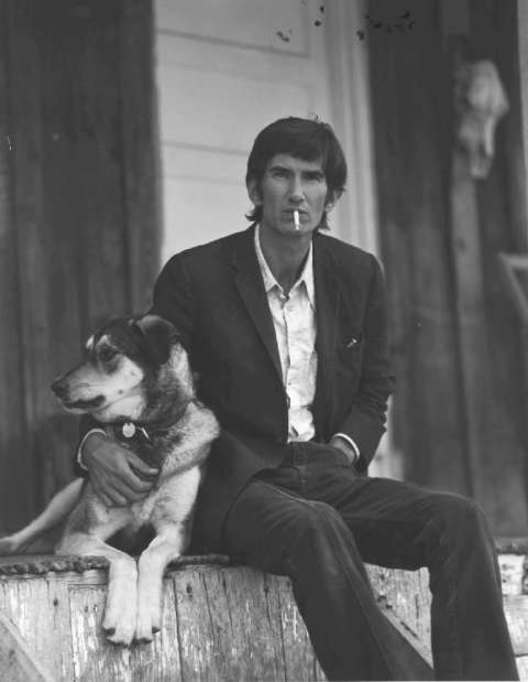 photo by Wood Newton - Townes van Zandt