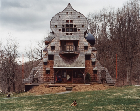Staff Building, Gesundheit! Institute, Hillsboro, West Virginia, April 2004 — Joel Sternfeld